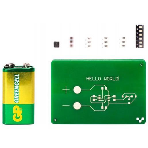 Набор комплектующих для печати плат Voltera Hello World