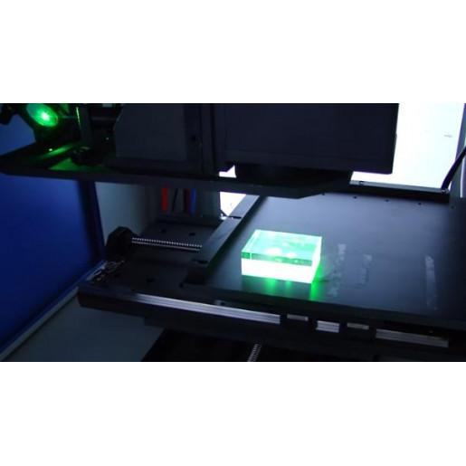 Лазерный гравер Han's Laser GLASS 3D