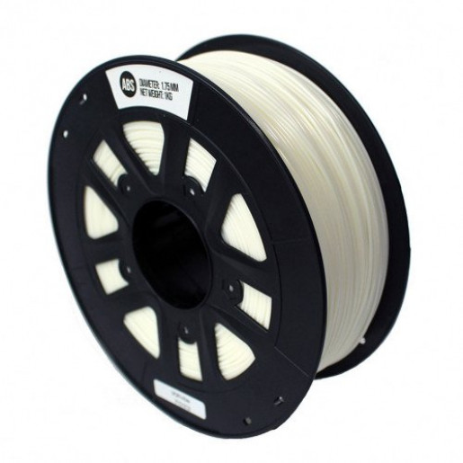 ABS пластик 1,75 SolidFilament белый 1 кг