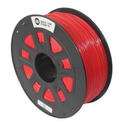 ABS пластик 1,75 SolidFilament красный 1 кг