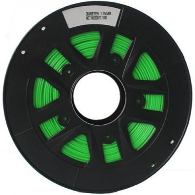 PETG пластик 1,75 SolidFilament прозрачный зеленый 1 кг