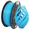 PLA пластик 1,75 SolidFilament прозрачный голубой 1 кг