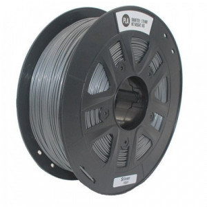 PLA пластик 1,75 SolidFilament серебряный 1 кг