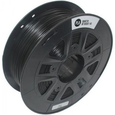 PLA пластик Solidfilament 2,85 мм, 1 кг, черный