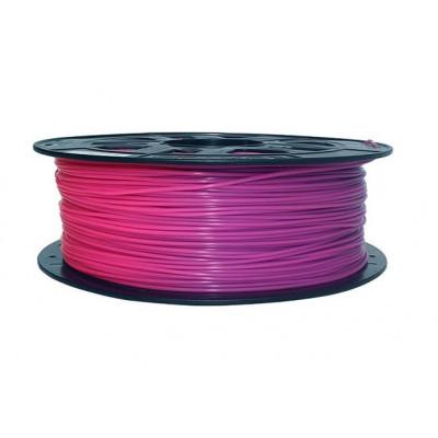 PLA пластик Solidfilament 1,75мм меняющийся пурпурный-розовый 1кг