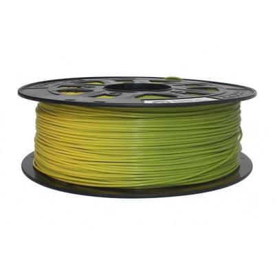PLA пластик Solidfilament 1,75мм меняющийся желтый-зеленый 1кг