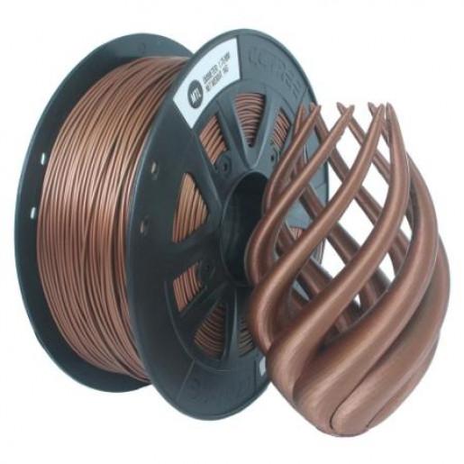 Metalfilled пластик Solidfilament в катушках 1,75мм медный 1кг