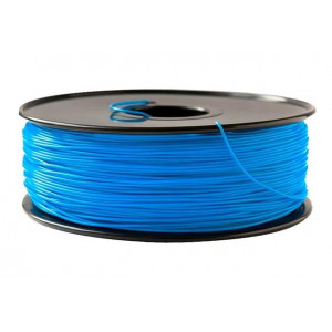 PLA+ пластик SolidFilament 1,75 флуоресцентный синий 1 кг