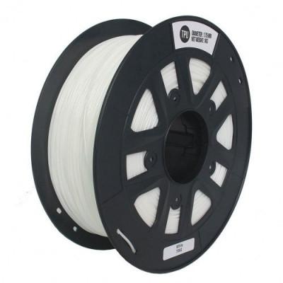 TPU пластик 1,75 SolidFilament белый 1 кг