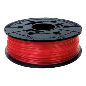 PLA сменная катушка 1,75 XYZPrinting прозрачно-красный 0,6 кг