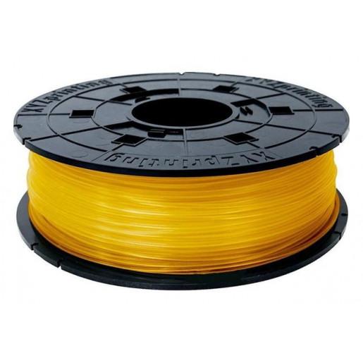 PLA сменная катушка 1,75 XYZPrinting прозрачно-оранжевый 0,6 кг