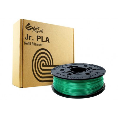 PLA сменная катушка 1,75 XYZPrinting прозрачно-зеленый 0,6 кг