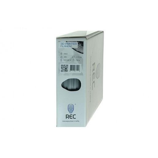 ABS пластик 2,85 REC серебристый 0,75 кг