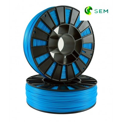 ABS пластик 1,75 SEM голубой 1 кг