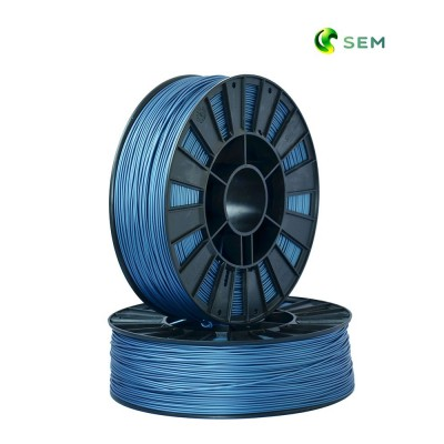 ABS пластик 1,75 SEM синий металлик 0,95 кг