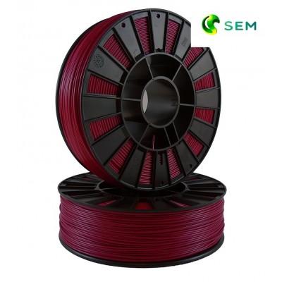 ABS пластик 1,75 SEM бордовый 0,95 кг