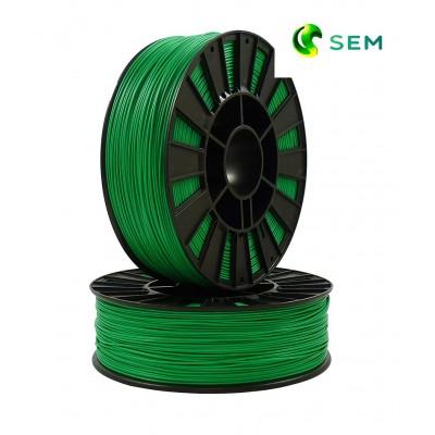 ABS пластик 1,75 SEM зеленый 0,95 кг