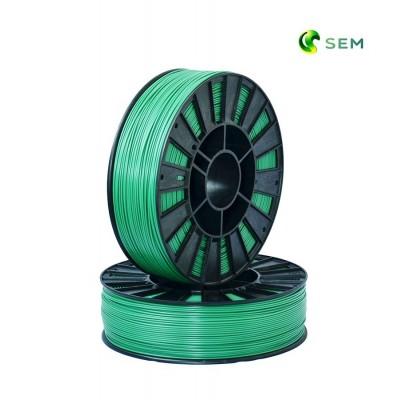 ABS пластик 1,75 SEM зеленый металлик 1 кг