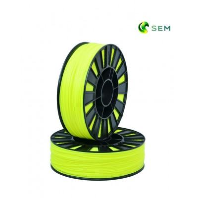 ABS пластик 1,75 SEM флуоресцентный желтый 0,95 кг