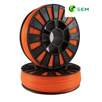 ABS пластик 1,75 SEM оранжевый 0,95 кг