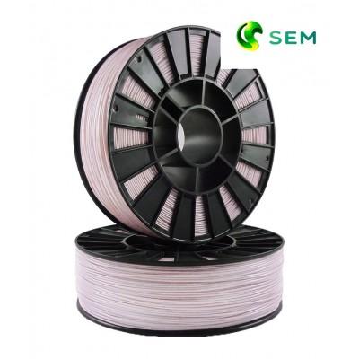 ABS пластик 1,75 SEM розовый мрамор 1 кг