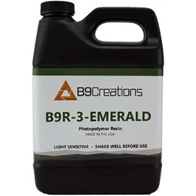 Пигментированная смола B9R-3-Emerald Resin