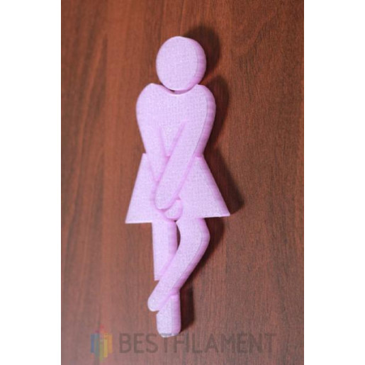 Пластик Bestfilament Watson 1,75 мм розовый, 0,5 кг