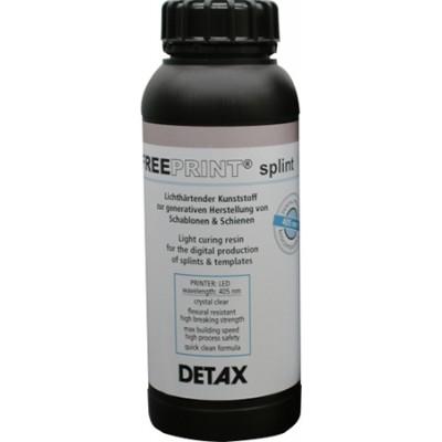 Detax Freeprint splint 405 1кг, прозрачный