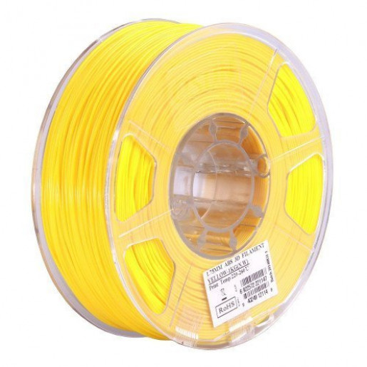 ABS пластик ESUN 1,75 мм, 1 кг, желтый