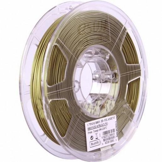 Bronze пластик ESUN 3 мм, 0,5 кг