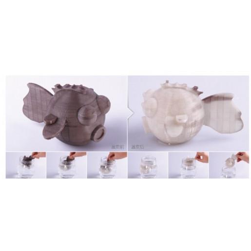 Color Change пластик ESUN 1,75 мм, серый-натуральный 1 кг