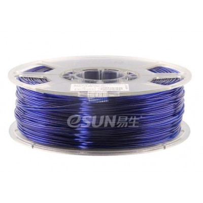 PETG пластик ESUN 1,75 мм 1 кг, синий