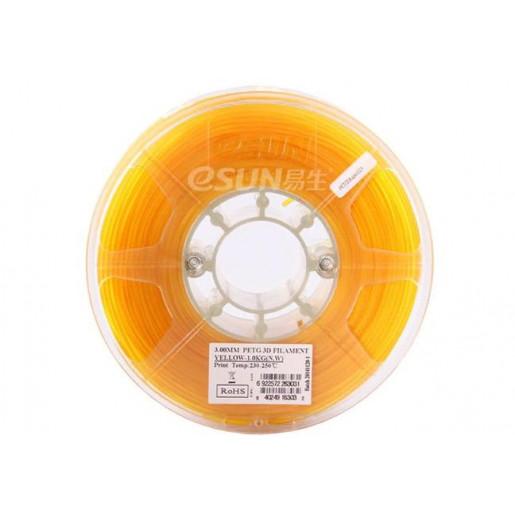 PETG пластик ESUN 1,75 мм 1 кг, желтый