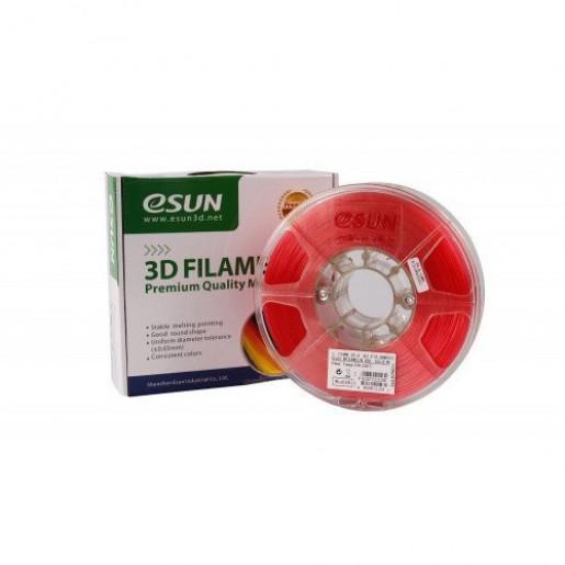 PLA пластик ESUN 1,75 мм, 1 кг, прозрачно-красный