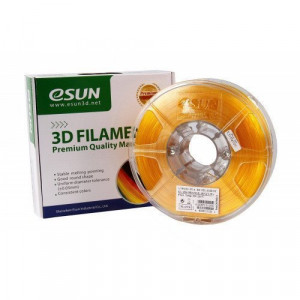 PLA пластик ESUN 1,75 мм, 1 кг, прозрачно-желтый