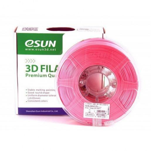 ABS пластик ESUN 1,75 мм, 1 кг, розовый