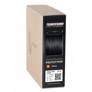 Пластик Filamentarno TOTAL GF-30 черный 0,75 кг