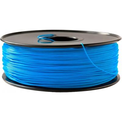 PLA пластик FL-33 1,75 флюоресцентный синий 1 кг