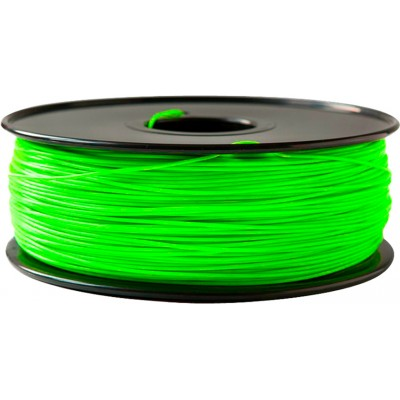 PLA пластик FL-33 1,75 флюоресцентный зеленый 1 кг