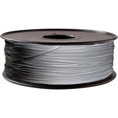 PLA пластик FL-33 1,75 серо-белый 1 кг