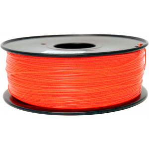 PLA пластик FL-33 1,75 прозрачный красный 1 кг