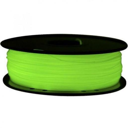 PLA пластик FL-33 1,75 светящийся зеленый 1 кг