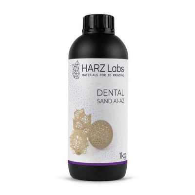 Фотополимер HARZ Labs Dental Sand LCD/DLP 1 л