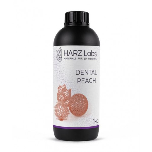 Фотополимер HARZ Labs Dental Peach LCD/DLP 1 л