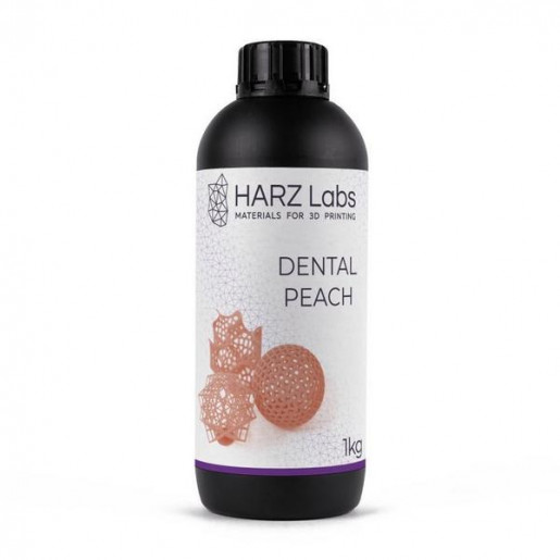 Фотополимер HARZ Labs Dental Peach SLA/Form-2 1 л