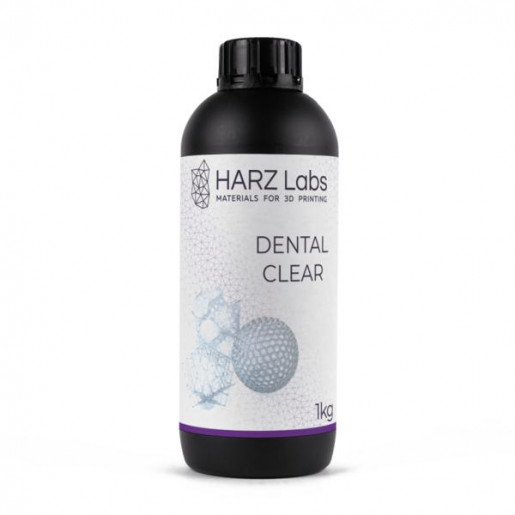 Фотополимер HARZ Labs Dental Clear LCD/DLP 1 л