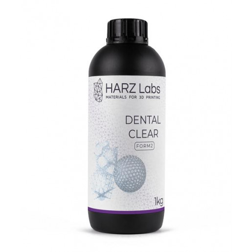 Фотополимер HARZ Labs Dental Clear SLA/Form-2 0,5 л