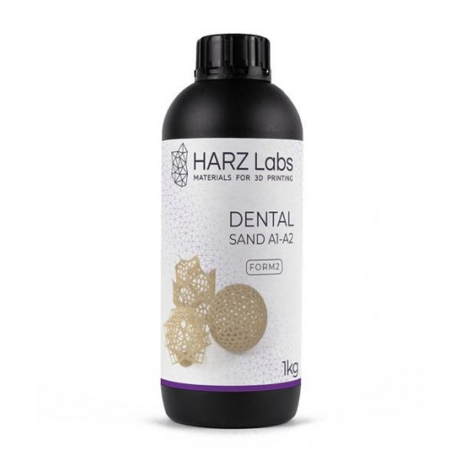 Фотополимер HARZ Labs Dental Sand SLA/Form-2 1 л