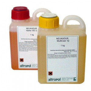 Литьевой пластик Lasso LasilCast 15, 1+1,7 кг
