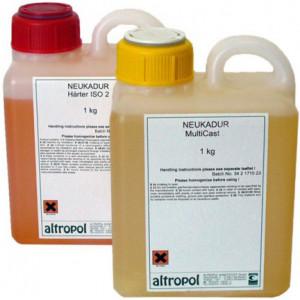 Литьевой пластик Lasso LasilCast 4, 1+1 кг